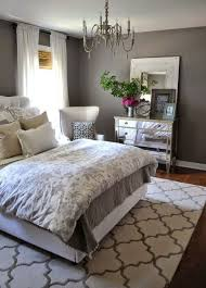 Bedroom Charcoal Grey Wall Color For Colonial Decorating Ideas Young Women With Printed