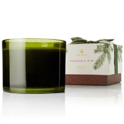 Thymes Frasier Fir 3-Wick Candle 17 oz