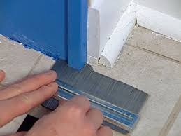 Can You Lay Ceramic Tile Over Linoleum by How To Install Vinyl Tiles Hgtv