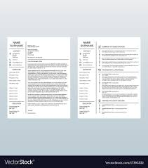 Minimalist Cover Letter And Resume Template Cv Template Professional Curriculum Vitae Minimalist Design Ms Word Cover Letter 1 2 And 3 Page Simple Resume Instant Sample Format Awesome Impressive Resume Cv Mplate With Nice Typography Simple Design Vector Free Minimalistic Clean Ps Ai On Behance Alice In Indd Ai 15 Templates Sleek Minimal 4p Ocane Creative