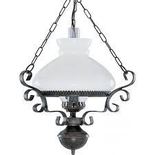 Rustic Oil Lantern Style