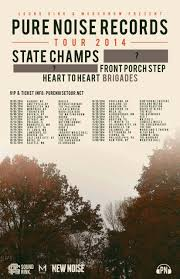 State Champs & Front Porch Step announced for Pure Noise Tour