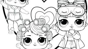 Lol Doll Coloring Pages Inspirational For Lesson Kids