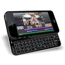 Amazon Bluetooth Qwerty Keyboard Sliding Case for iPhone 5 5S