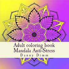 Image Is Loading Mandala Coloring Book Adults Art Therapy Design Stress