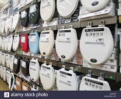 Toilet Seats Home Depot NYC USA Stock Royalty Free Image