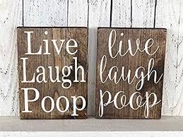de modtory holzschild live laugh dekoschild