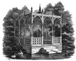 Garden Structures Rustic Victorian Gothic