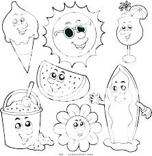 Special Offer Printable Coloring Sheets For Kids 5F9R Free Summer Pages