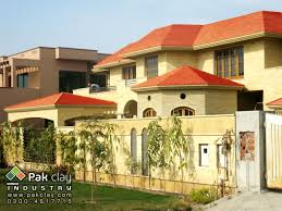 flat roof design 11 exterior flat clay roof tiles house