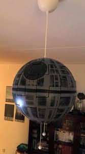 turn ikea hanging l into star wars death star crafty ideas a