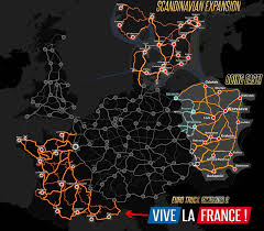 DLC Map For Euro Truck Sim 2. Couldn't Find One So I Pieced One ...