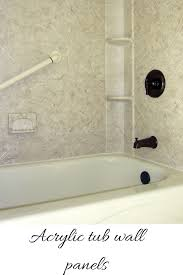 Bathtub Wall Liners Home Depot by Shower Wall Material Glass Shower Wall At Ceiling Batten Strip