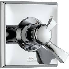 Delta Dryden Faucet Stainless by Delta Dryden Temperature U0026 Volume Control Chrome Shower Faucet