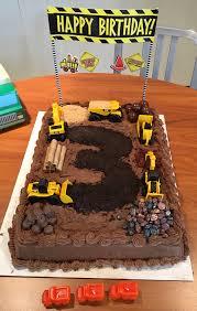Carter s Construction Cake Got a sheet cake from Costco