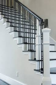 24 Best Craftsman Style Staircase Remodeling Ideas Images On ... Iron Stair Parts Wrought Balusters Handrails Newels And Stairs Amusing Metal Railing Parts Extordarymetalrailing Banister Baluster Railing Adorable Modern Railings To Inspire Your Own Shop Kits At Lowescom Stainless Steel Our 1970s House Makeover Part 6 The Hardwood Entryway Copper Home Depot Model Staircase Metal Spindles For High Quality Neauiccom 24 Best Craftsman Style Remodeling Ideas Images On This Deck Stair Was Made Using Great Skill Modular