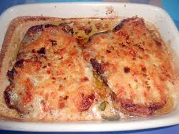 recette de cotes de porc gratinees alla mozzarella