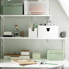 etagere de bureau ikea idées rangement pour le bureau décoration
