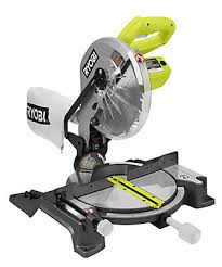 Wet Tile Saw Home Depot Canada by Ryobi 10 Inch Compound Miter Saw With Laser The Home Depot Canada
