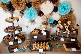 Rustic Birthday Table Decorations Image Inspiration Of Cake And