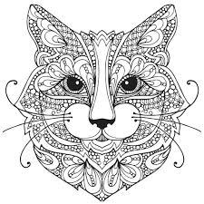 Farm Animal Coloring Pages For Adults Color With Music Wild About Cats Adult Book Blank Page