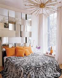Mirror Headboard For A Modern Bedroom Touch