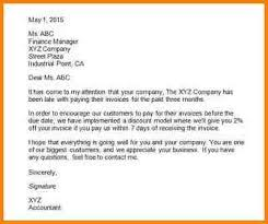 6 example business letter