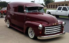 100 Panel Trucks 1951 GMC Delivery My Dream Car