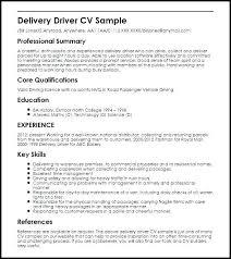 Sample Resume Truck Driver Colbro
