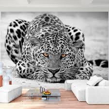 fototapete leopard 352 x 250 cm vliestapete wandtapete