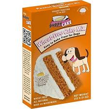 Puppy Cake Wheat free Peanut Butter Cake Mix And Frosting by Uncle Jimmy s Brand Products