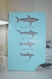 Decorative Surfboard With Shark Bite by 25 Unique Shark Decorations Ideas On Pinterest Shark Birthday
