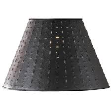 Best Punched Tin Lamp Shades 32 Metal Mesh Lamp Shade with
