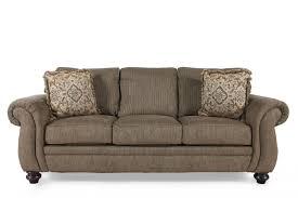 broyhill cassandra teak queen sleeper sofa mathis brothers furniture