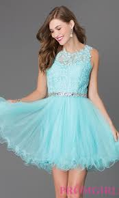 short tulle lace top prom dress sweet 16 birthday 16th birthday