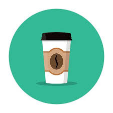 Paper Coffee Cup Premium Clipart