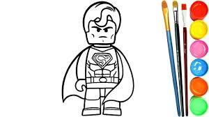Dibujos Para Colorear Flash Lego