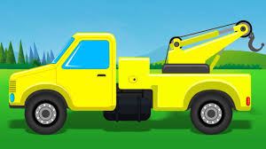 Tow Truck Towing Cars Trucks For Kids Construction Vehicle For ...