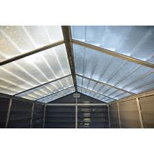 6x8 Plastic Storage Shed palram skylight shed anthracite 6 x 8 at wilko com