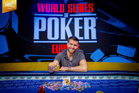 Jack Sinclair Wins 2018 World Series Of Poker Europe Main Event