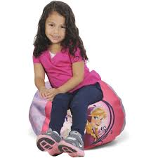 100 Kids Bean Bag Chairs Walmart Disney Frozen Movie Round Chair Com