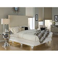 amazon com knickerbocker embrace bed frame in white queen size