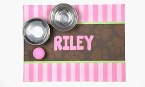 f a Personalized Pet Food Mat
