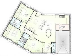 plan maison contemporaine plain pied 3 chambres plan maison 100m2 3 chambres avie home