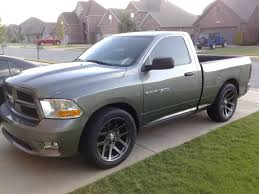 Mineral Gray Metallic Ram Express With 2/4 Drop & SRT 22