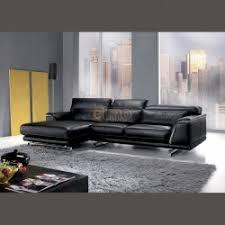 canap cuir contemporain canapé cuir canapé d angle contemporain bicolore pour salon design