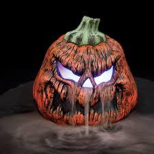Fiber Optic Pumpkin Head Scarecrow by Really Fun Halloween Decor U2026