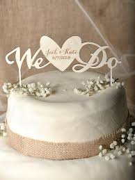 Rustic Cake Topper Wood Heart By Forlovepolkadots 35