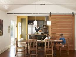 Kitchen Dining Room Barn Doors Add A Rustic Touch To Your Home Decor