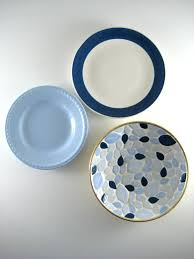 articles with decorative mini plates set of 4 tag decorative wall